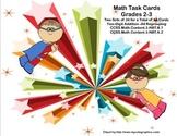 Math Task Cards-Adding With Regrouping-2.NBT.B.5 and 3.NBT.A.2 Super Kids