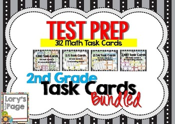 Common Core Math Task Cards - BUNDLE