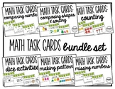 Math Task Cards (BUNDLE SET)