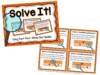 Math Task Cards Bundle 1st Grade 2nd Grade