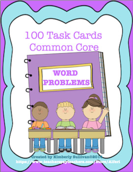 Fall review Bundle  Math 164 Task Cards Common Core! Centers