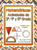 Math Task Cards Bundle Gr. 3-5