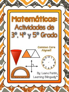 Math Task Cards Bundle Gr. 3-5