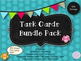 Math Task Cards Bundle Pack
