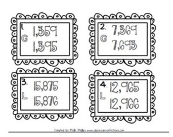 4th Grade Math Task Cards: Math Review: 4th Grade Math Centers: Math Workshop