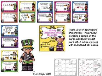 Math Task Cards Bundled Set