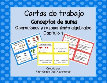 Math Task Cards Chapter 1 (SPANISH)