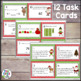 Christmas Math Task Cards {freebie}