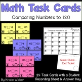 Math Task Cards - Comparing Numbers to 120