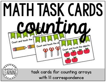 Math Task Cards: Counting