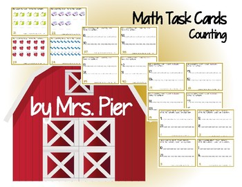 Math Task Cards - Counting
