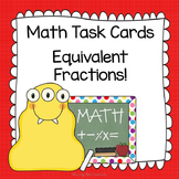 Math Task Cards: Equivalent Fractions