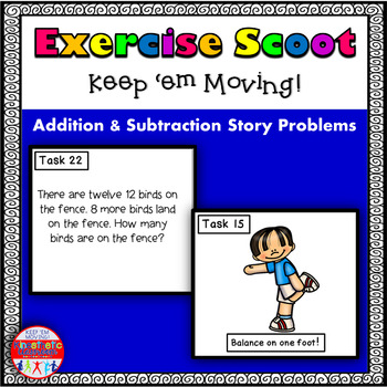 Addition and Subtraction Story Problems w/in 20-Math Task