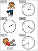 Telling Time 5 Minute Intervals: Math Task Cards - Exercis