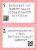 Math Task Cards: Expanded Notation Hundredths-Billions In COLOR AND Black&White