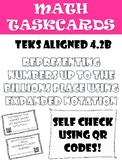 Math Task Cards: Expanded Notation Hundredths-Billions In