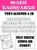 Math Task Cards: Expanded Notation Hundredths-Billions In