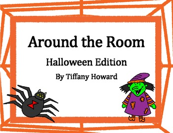 """Math Task Cards - Fall Edition of """"Around the Room"""" Math Review"""