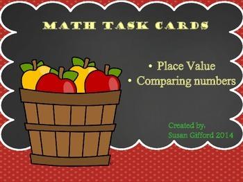 Math Task Cards - Fall Themed