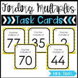 Math Task Cards - Finding Multiples