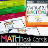 Math Task Cards - Fractions