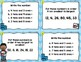 Math Task Cards Freebie