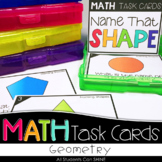 Math Task Cards - Geometry