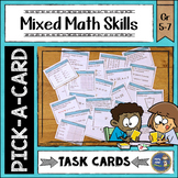 Math Task Cards Grade 6