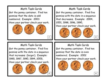 Math Task Cards Grades 2 & 3