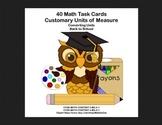 Converting Measurements-Math Task Card- Grades 4-5 -School