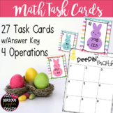 Math Task Cards - Spring