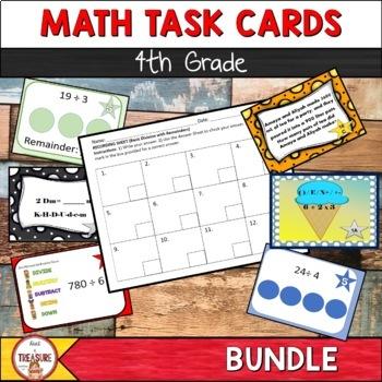 Math Task Card Bundle