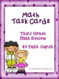 Math Task Cards Third Grade Math Review