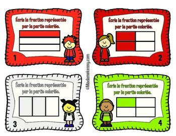 Math Task Cards In French - Cartes à tâches mathématiques en français