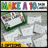 Math Task Cards (Make a Ten Strategy)