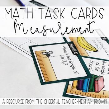 Math Task Cards: Measurement