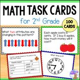 Math Task Cards for Grade 2