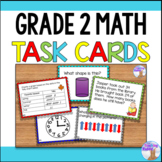 Math Task Cards (2nd Grade)