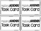 Math Task Cards:  Missing Addends