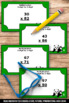 Multiplication Task Cards 4th Grade Math Stations Common C