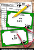 Multiplication 2 Digit by 2 Digit Task Cards & Games