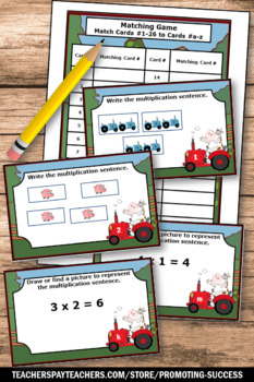 Multiplication Games, SCOOT Scavenger Hunt, Multiplication Groupings Pictures
