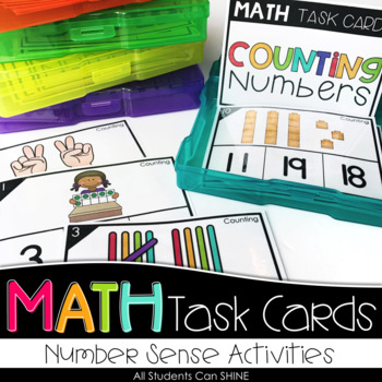 Math Task Cards - Number Sense