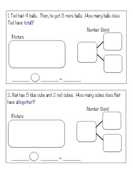 Math Task Cards Numbers 1 - 10