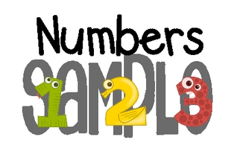 Math Task Cards - Numbers