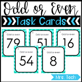 Math Task Cards - Odd or Even