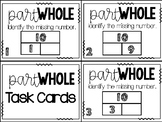 Math Task Cards:  Part-Part Whole to 10