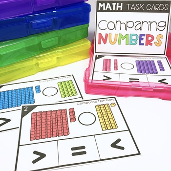 Math Task Cards - Place Value