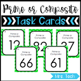 Math Task Cards - Prime or Composite