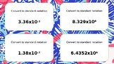 Math Task Cards Scientific Notation